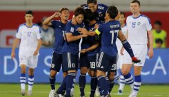 Japan edge past Uzbeks