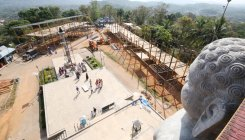 Preparations on for Mahamastakabhisheka