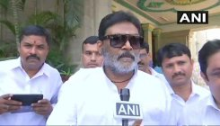 Cong MLA Anand Singh attends Karnataka joint session