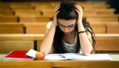 Stress levels rise as exams near