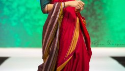 Traditional saris get modern makeover