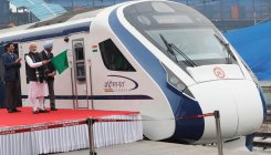 PM flags off Vande Bharat Express