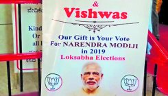 Couple seek vote for Modi at marriage