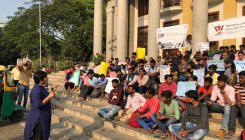 Protest against 'anti-student' policies held in City