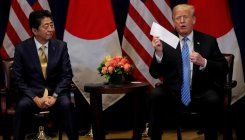Abe nominated Trump for Nobel after US request: report