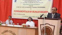 'Human Rights will be the future of politics'