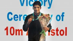Saurabh wins gold with world record