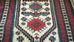 Central Asian carpets...star decorations