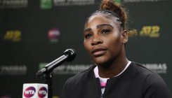 Serena urges fight against double standards