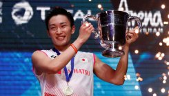 Momota, China's Chen win All England titles