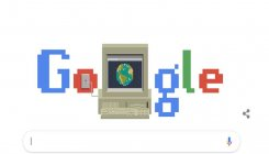 Google celebrates 30 years of WWW with a doodle