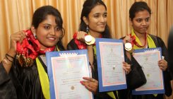Girl power on show at VTU convocation