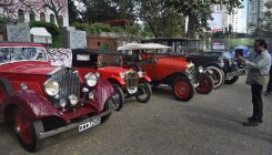 Vintage car rally from B'luru to Mysuru