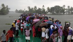 More rain as cyclone looms over Kerala