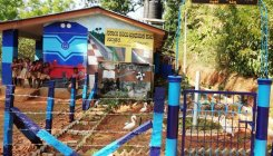 This govt school in Koppa resembles a train