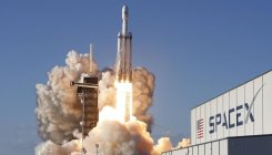 SpaceX sends most powerful rocket on commercial flight