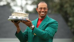 Woods' redemption song instant global hit