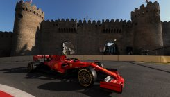 Charles Leclerc leads Ferrari practice one-two