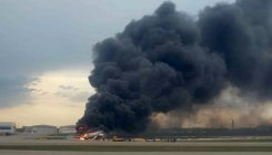 41 feared dead in Russian plane blaze disaster