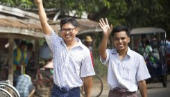 Myanmar frees Reuters journalists after global outrage