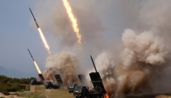 North Korea fires projectiles: South's military