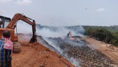 Fire at Pacchanady dump yard