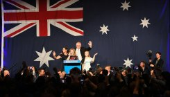 Australia's conservative govt revels in re-election