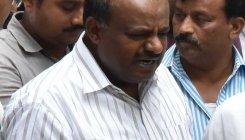 CM Kumaraswamy slams exit polls, points fingers at EVMs