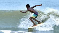 Youngsters rule the sea at annual 'Mantra Grom Search'