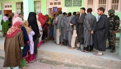 Exit poll prediction dismays people in Kashmir