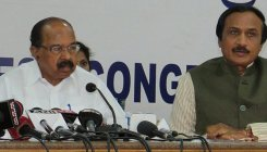 Exit polls to boost the stock market: Veerappa Moily
