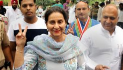 Cong's Preneet Kaur wins in Patiala,