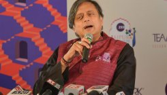 I feel like a batsman who scored a century: Tharoor