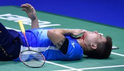 Malaysia exit Sudirman Cup after freak injury