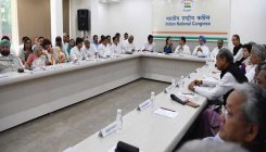 Cong Working Committee meets to review LS poll debacle