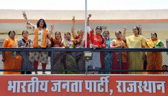 RSS back up, strife in Cong help BJP score 25/25 in Raj