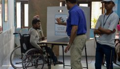 Braille ballots, ramps missing at booths during polls