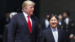 Trump becomes first foreign leader to meet Naruhito