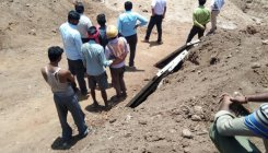Three labourers buried alive as mud caves in