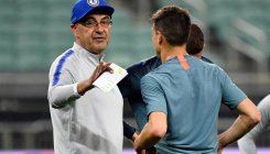 Angry Sarri storms out of Chelsea training