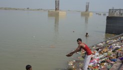 Ganga water unfit for direct drinking, bathing: CPCB