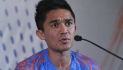 Chhetri keen to end India's poor away record