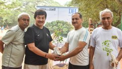 DH, PV organise sapling-distribution events