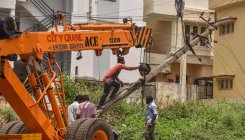 Slow removal of tree debris in RR Nagar angers locals