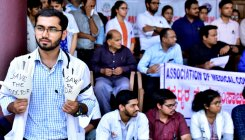 Coimbatore doctors protest against Kolkata violence