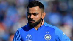 Virat Kohli fined for appealing in an aggressive manner