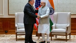 Indian shares rise faintly; Pompeo meet, budget focused