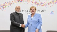 Modi meets Merkel, discusses Indo-German ties