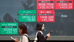Asia stocks surge on Trump-Xi breakthrough, oil rallies