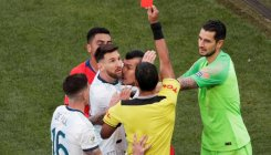 Messi blasts Copa America 'corruption' after red card